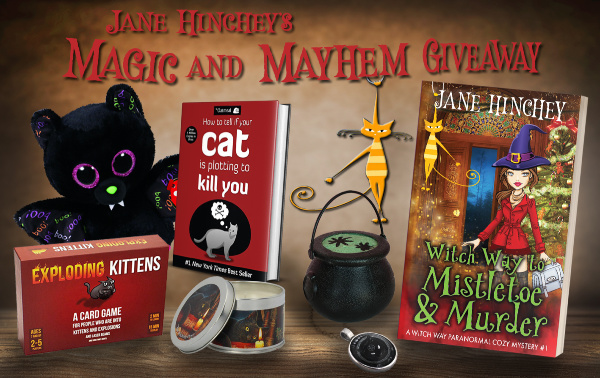 Witch Cozy Mystery Giveaway