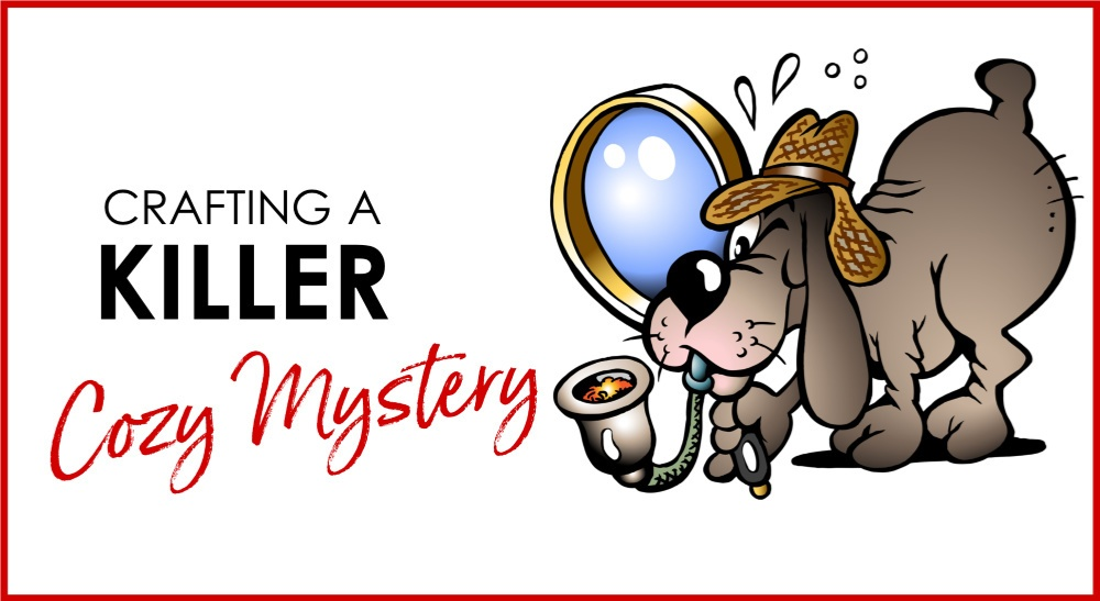 cozy mystery workshop with Jane Hinchey