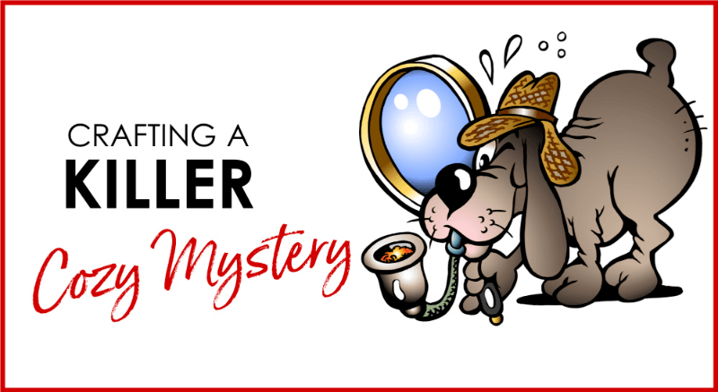 How to write and market a cozy mystery