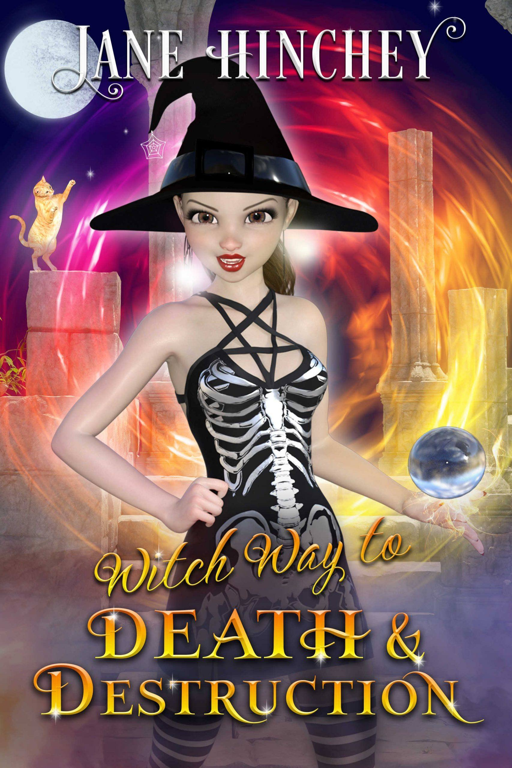 A paranormal cozy mystery