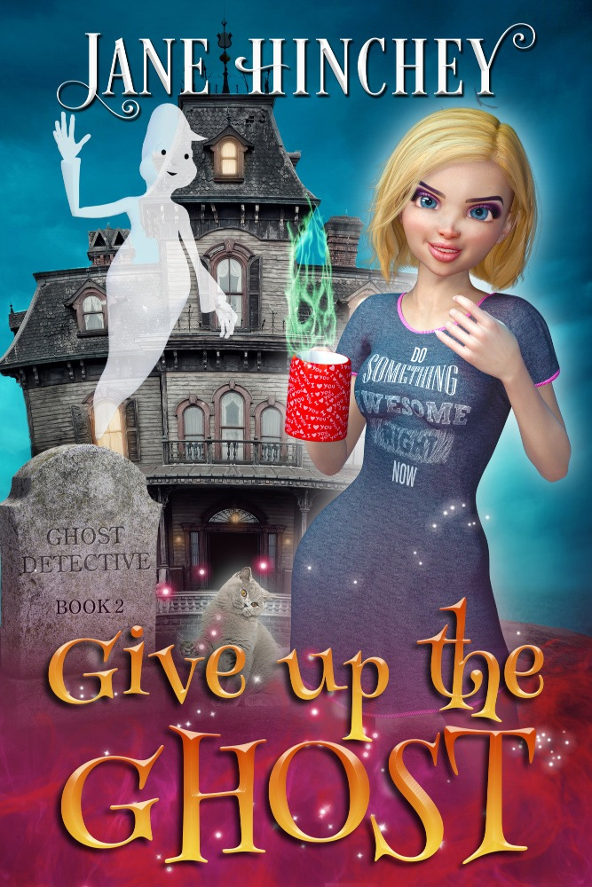 A funny romantic cozy mystery by Jane Hinchey