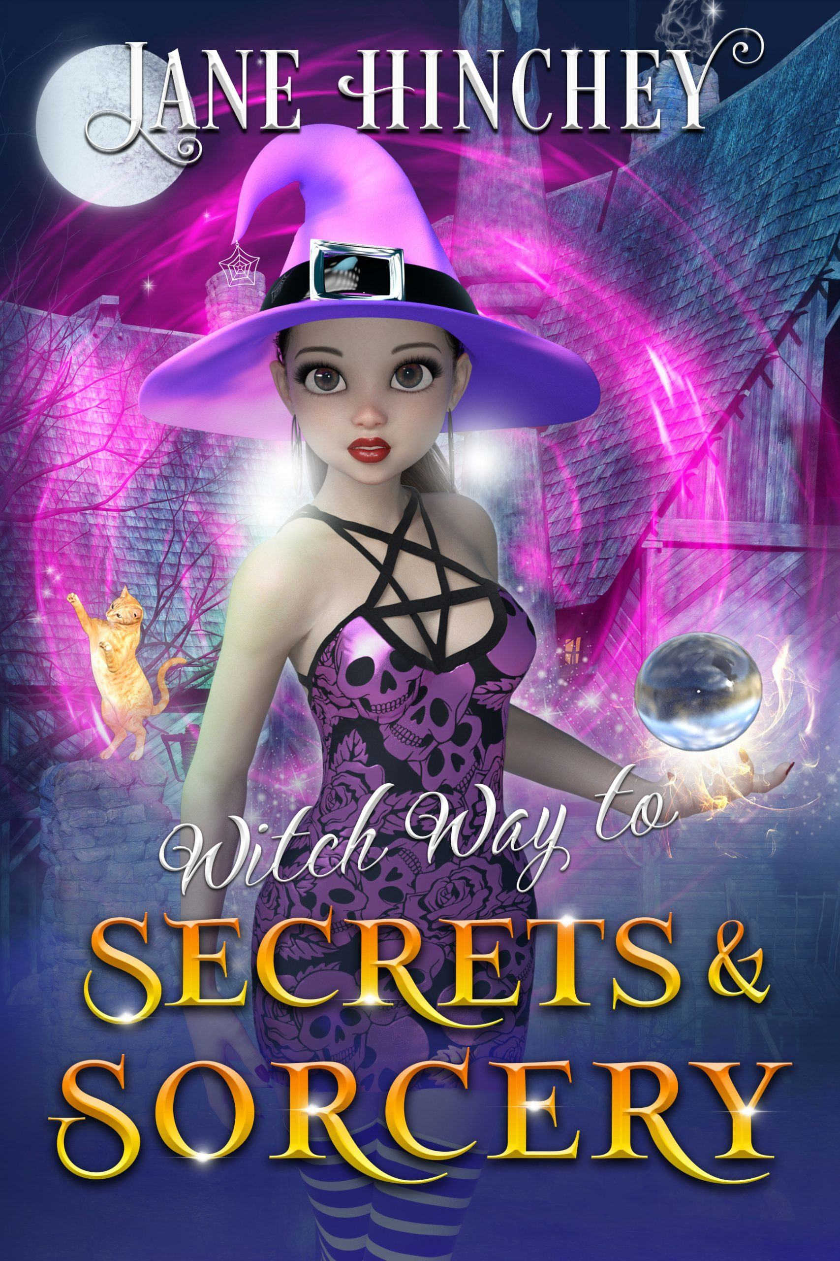 Witch Way Paranormal Cozy Mystery #6