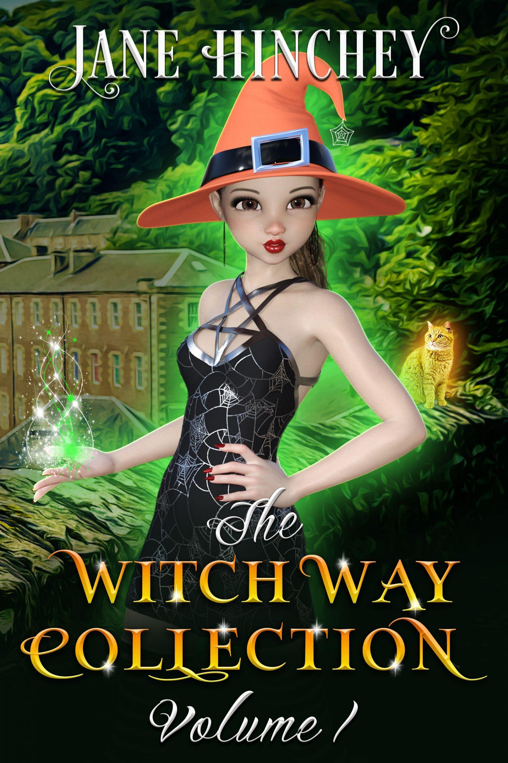 Books 1-3, the Witch Way Series