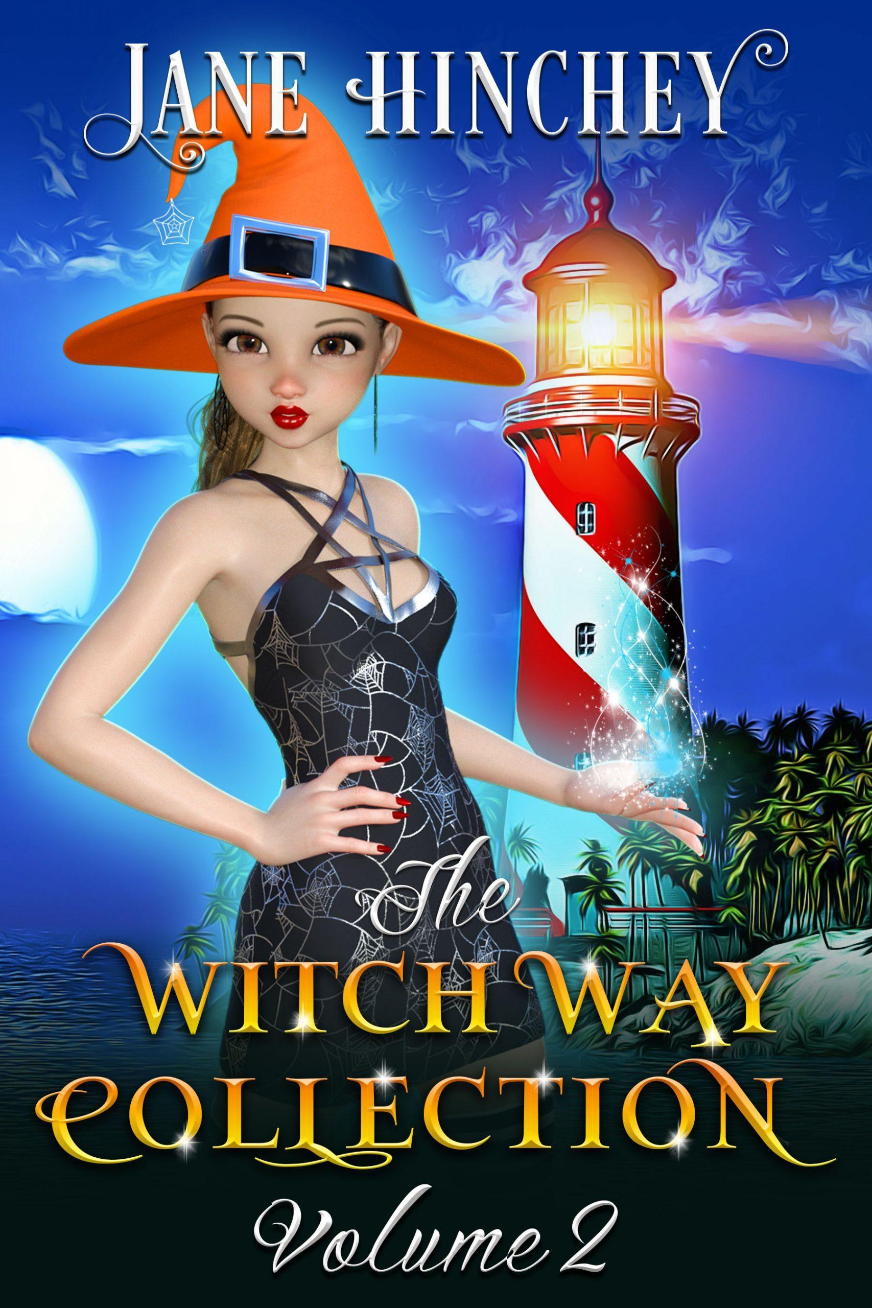 Books 4-6 in the Witch Way Series