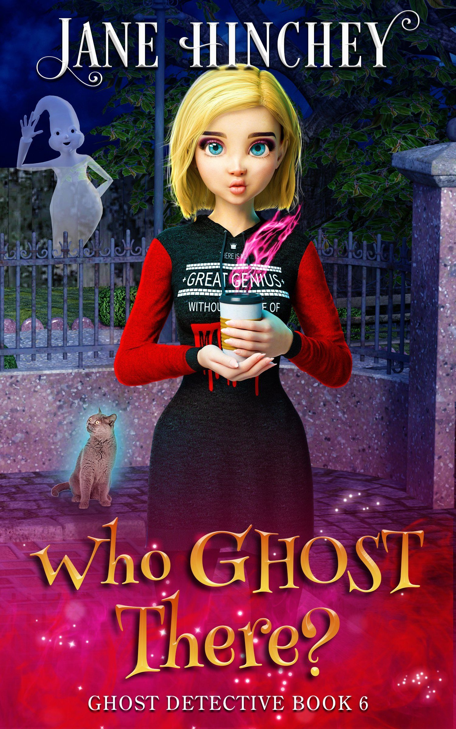 Ghost Detective Book 6